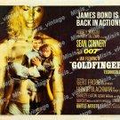 Goldfinger 1964 Vintage Movie Poster Reprint 36