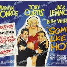 Some Like It Hot 1959 Vintage Movie Poster Reprint 28