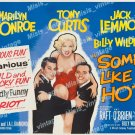 Some Like It Hot 1959 Vintage Movie Poster Reprint 27