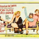 Some Like It Hot 1959 Vintage Movie Poster Reprint 25
