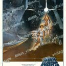 Star Wars 1977 Vintage Movie Poster Reprint 57
