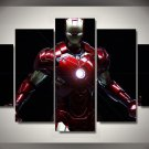 Large Framed or Unframed Iron Man Movie Five Piece Canvas Print Wall Decor
