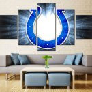 Large Framed Indianapolis Colts Football Print Home Decor Wall Art