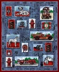 """68""""x48"""" Firefighter Throw"""