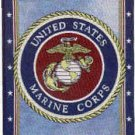 "17""x13"" Cotton United States Marines Banner"
