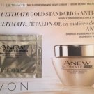 Avon Anew Ultimate Gold  samples/ 10 Sample Cards Total/Free Gift & Shipping