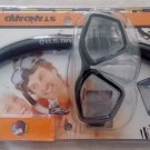 Brand New U S Divers Icon Mask and Airent Snorkel Adult Sz. Black Free Shipping