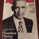 Rolling Stone Magazine December 15-29, 2016 A Conversation With President Obama