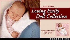 SO TRULY REAL LIFELIKE BABY DOLL WELCOME HOME EMILY BY LINDA WEBB