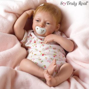 SO TRULY REAL LIFELIKE BABY MAGGIE BREATHING DOLL IN STOCK