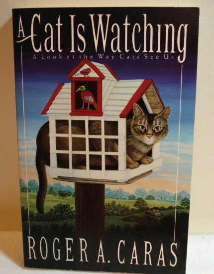 A Cat is Watching A Look at the Way Cats See US Roger A Caras PB fine cm1077