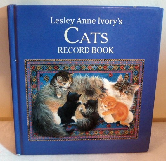 Lesley Anne Ivory's Cats Record Book unused cm1096