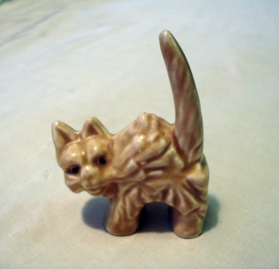 SylvaC scaredy cat miniature figurine 1960s mint vintage annimal collectible cm1238