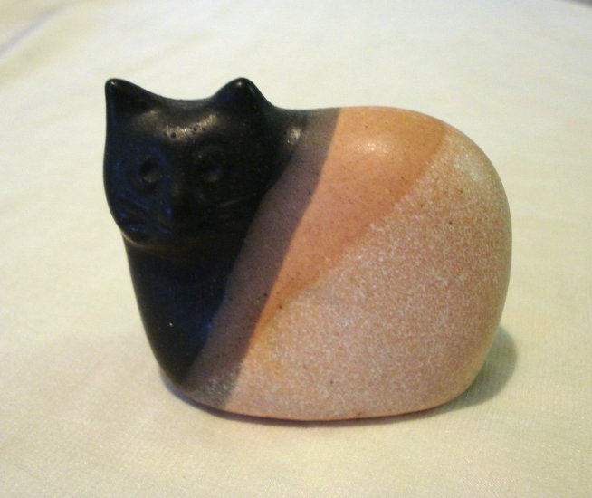 KK Krafty Kreetures ceramic cat figurine modern design vintage animal collectibles cm1240