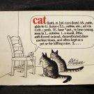 CAT a cartoon book by B. Kliban PB vintage books cm1251