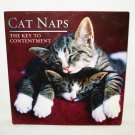 Cat Naps The Key to Contentment little gift book quotes and pictures as new preowned cm1394