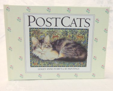 Post Cats Lesley Anne Ivory's Cat Paintings hard cover art and writing cm1502
