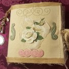 Burlap Fabric Journal