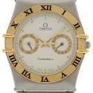 Men's Omega Constellation Day Date 18k YG/ SS 1980142