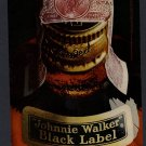1968 JOHNNIE WALKER BLACK LABEL WHISKEY VINTAGE MAGAZINE PRINT ART AD