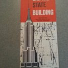 EMPIRE STATE BUILDING BROCHURE VINTAGE AD ADVERTISING NEW YORK CITY PHOTOS