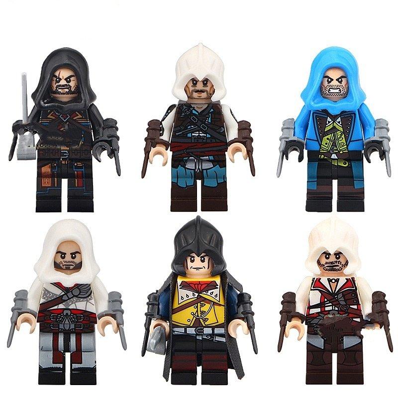 Firenze Dorian Cormac Kenway Minifigures Compatible Lego Assassins