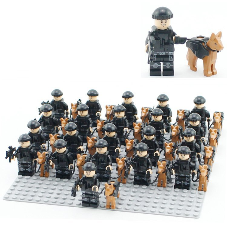 City Swat Police Team Special Police Unit Armored Police Doy Fit