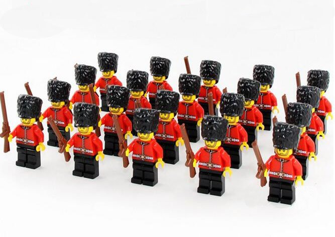 Best Household Guards of British Army Compatible Lego Royal Trooper Soldiers
