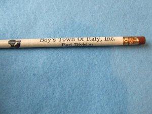 """Wood Pencil """"Bari Division"""" Boys Town Of Italy, NY"""
