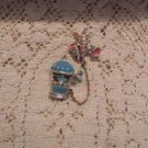 Sweater Chatelaine Pin - Jukebox & Saxophone