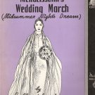 "Sheet Music ""Mendelssohn's Wedding March (Midsummer Night's Dream)"