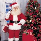 2392 XL Deluxe Santa Suit with Wig n Whisker Size 50-56