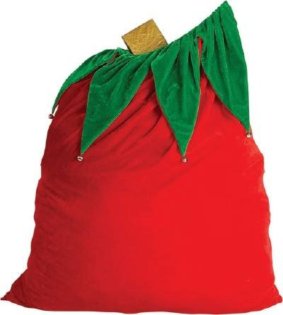 26504 Santa Bag with Bells