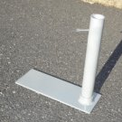 Tailgating 17' flagpole with Tire Mount