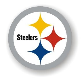 "Pittsburgh Steelers 12"" Car Magnet"