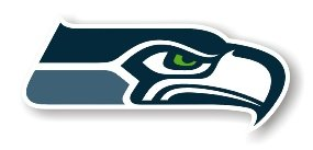 "Seattle Seahawks 12"" Car Magnet"