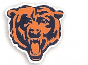 "Chicago Bears 12"" Car Magnet"