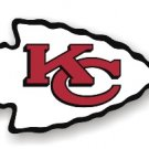 "Kansas City Chiefs 12"" Car Magnet"