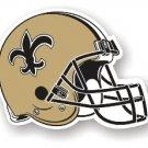 """New Orleans Saints 12"""" Car Magnet"""