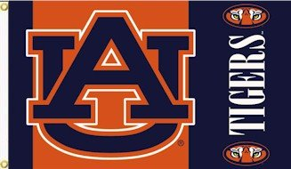 Auburn Tigers 3' x 5' Outdoor Flag