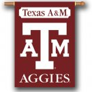 "Texas A & M  Aggies 28"" x 40"" Outdoor Banner"
