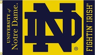 Notre Dame 3' x 5' Outdoor Flag