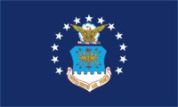 U.S. Air Force Flag (3' x 5') Made of Nylon