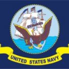 U.S. Navy Flag (3' x 5') Made of Nylon