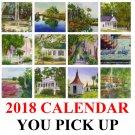2018 Art Calendar - LOCAL PURCHASE
