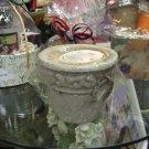 Terra Vasa Mini Planter Pot (Antique White)
