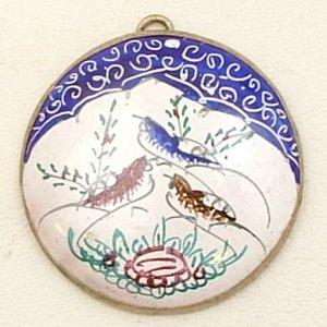 Mina Kari Bird Pendant