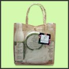 Deluxe Organic Spa Gift Set - Cucumber Lime