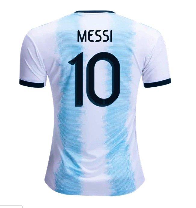 371d9a97584 Men's Lionel Messi #10 2019-2020 Home Jersey