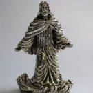 Jesus Walking on Water Statue Sterling Silver  from Caspi Silver in Israel
